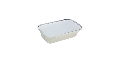 Uni-Foil Rectangle Small Takeaway with Lid