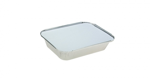 Uni-Foil Rectangle Medium Takeaway with Lid