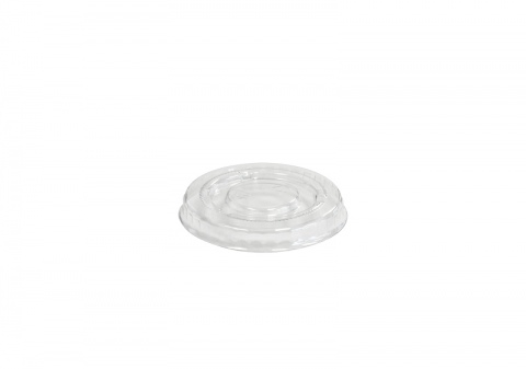 Emperor Round Polyethylene Flat Lid to suit 2oz/60ml Container