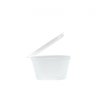 Emperor 50ml Polypropylene Sauce Cup with Lid